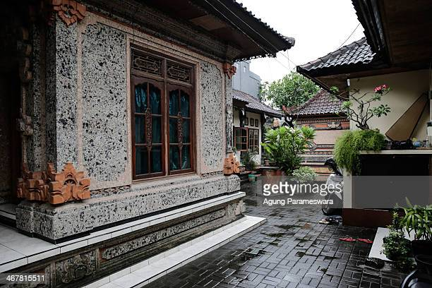 General view a house where Australian drug trafficker Schapelle Corby's sister and brother in law Mercedes Corby and Wayan Widyartha live on February...