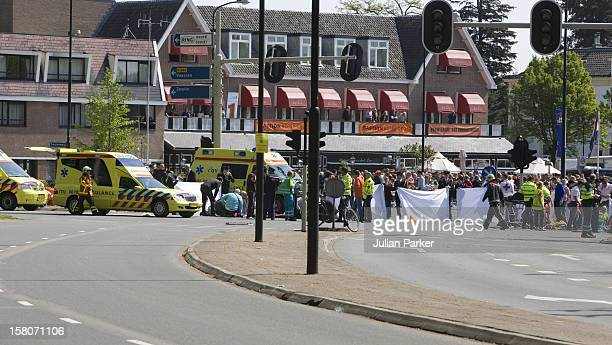 General View After A Car Hit Spectators Watching Dutch Queens Day Celebrations In Apeldoorn, Holland.