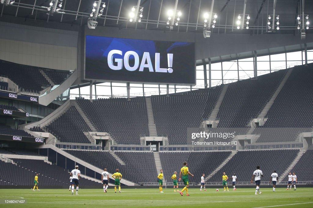 Tottenham Hotspur v Norwich City - Practice Match : News Photo