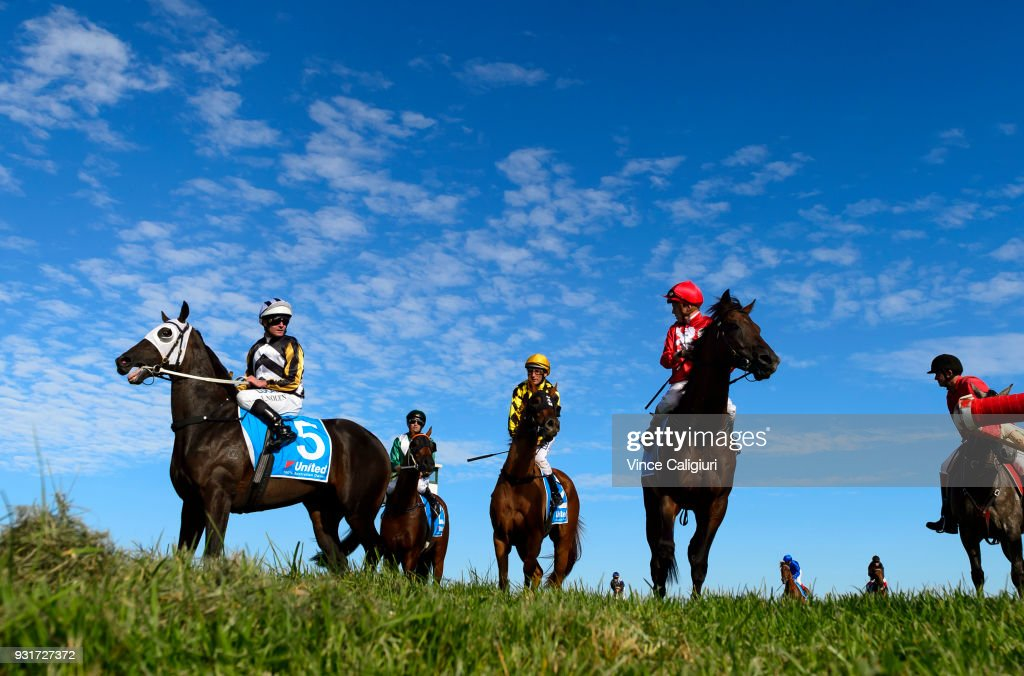 General view after Race 5 during Melbourne Racing at Sandown on March 14, 2018 in Melbourne, Australia.