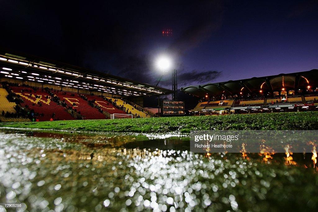 Watford v Wigan Athletic : News Photo