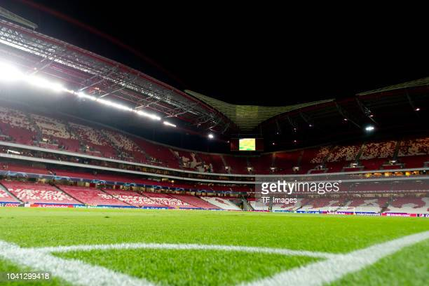 General view after the UEFA Champions League Group E match between SL Benfica and FC Bayern Muenchen at Estadio da Luz on September 19, 2018 in...