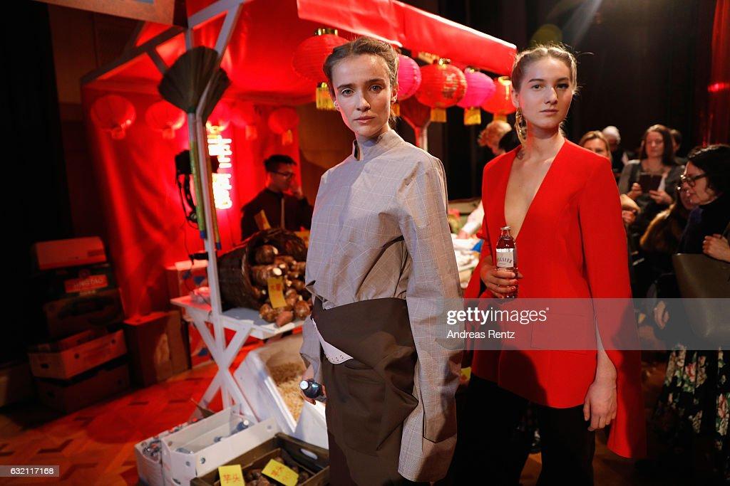 William Fan Defile - Der Berliner Mode Salon A/W 2017 : News Photo