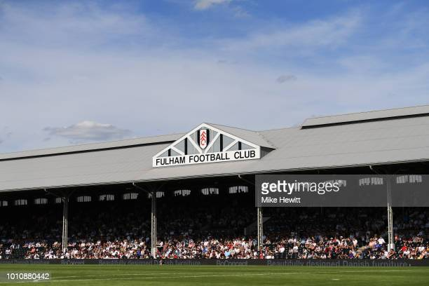 A general view ahead of a PreSeason Friendly between Fulham and Celta Vigo at Craven Cottage on August 4 2018 in London England