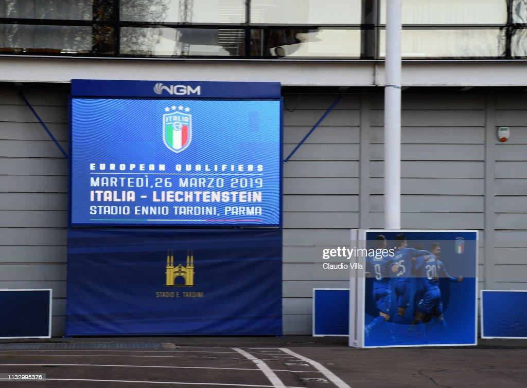 ITA: Italy v Liechtenstein - UEFA EURO 2020 Qualifier