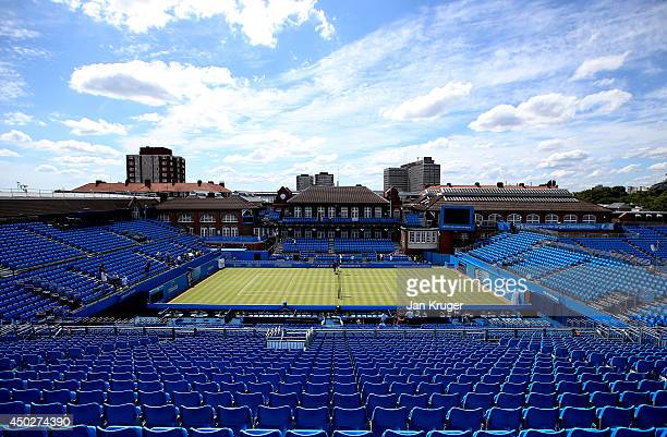 General view ahead of the AEGON Championships at Queens Club on June 8 2014 in London England