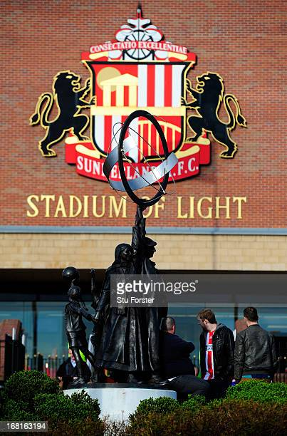 A general view ahead of the Barclays Premier League match between Sunderland and Stoke City at the Stadium of Light on May 06 2013 in Sunderland...