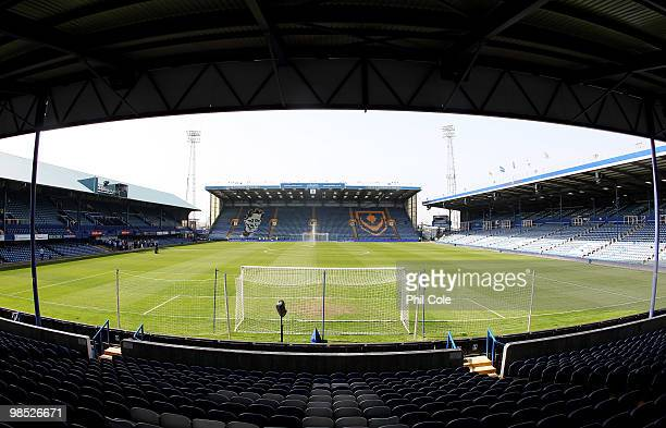 General view ahead of the Barclays Premier League match between Portsmouth and Aston Villa at Fratton Park on April 18, 2010 in Portsmouth, England.