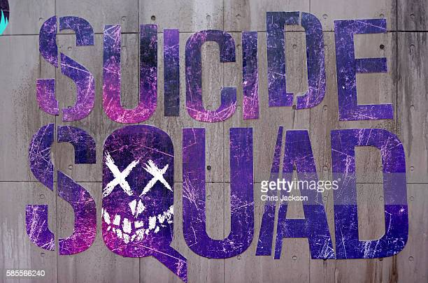 """General view ahead of the European Premiere of """"Suicide Squad"""" at the Odeon Leicester Square on August 3, 2016 in London, England."""