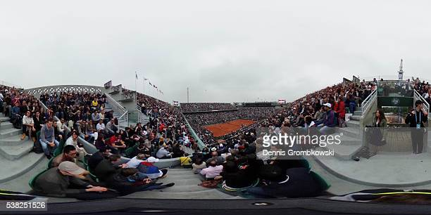 A general view ahead of the Men's Singles final match between Andy Murray of Great Britain and Novak Djokovic of Serbia on day fifteen of the 2016...