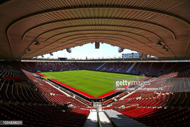 General View ahead of the Premier League match between Southampton FC and Brighton Hove Albion at St Mary's Stadium on September 17 2018 in...
