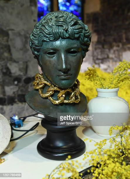 A general view ahead of The Queen Elizabeth II Award for British Design presentation during London Fashion Week February 2020 on February 18 2020 in...