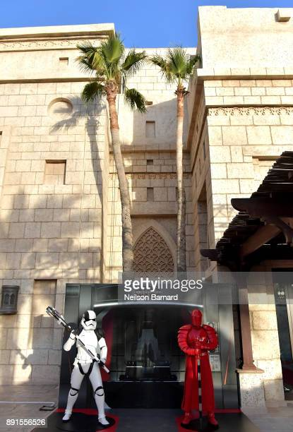 A general view ahead of the Star Wars The Last Jedi Closing Night red carpet on day eight of the 14th annual Dubai International Film Festival held...