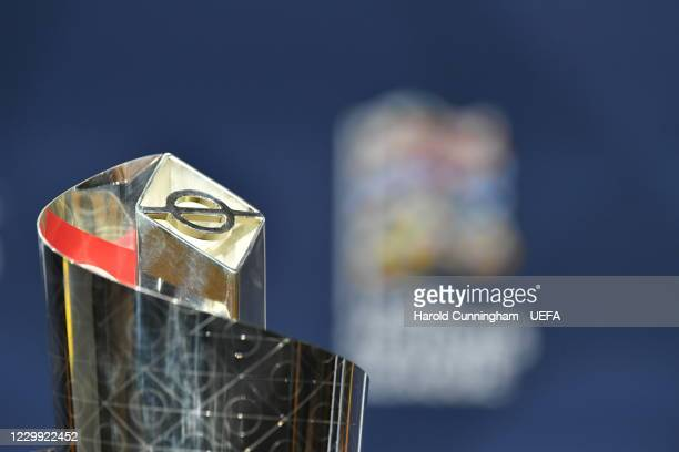 General view ahead of the UEFA Nations League 2020/21 Finals draw at the UEFA Headquarters, the House of European Football, on December 3 in Nyon,...