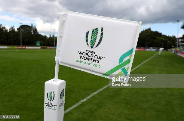 A general view ahead of the Women's Rugby World Cup 2017 match between England and Spain on August 9 2017 in Dublin Ireland