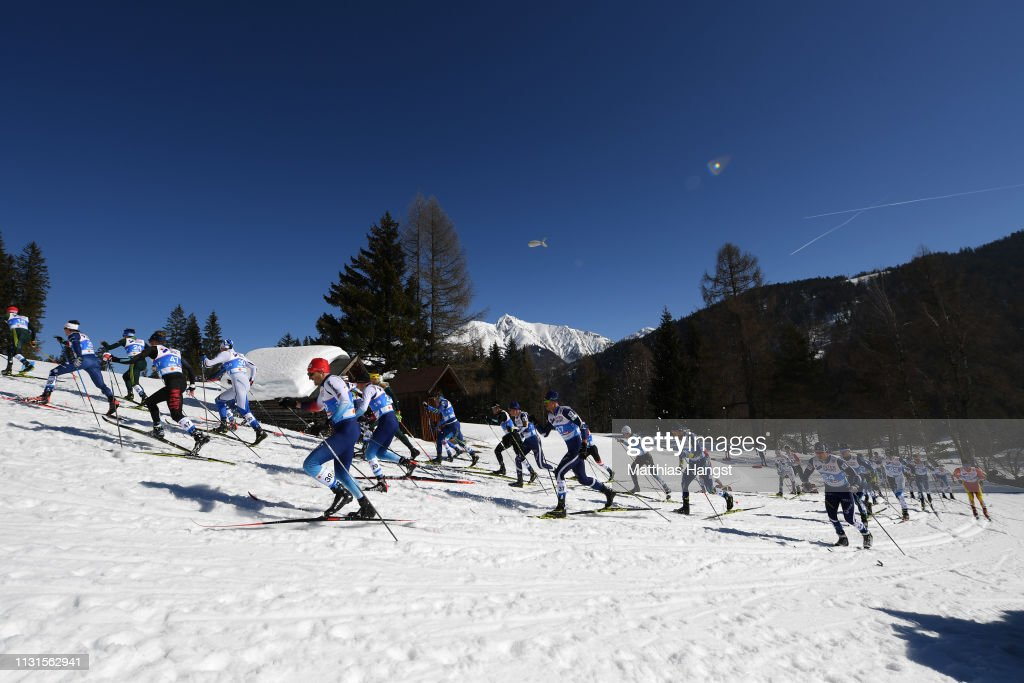 AUT: FIS Nordic World Ski Championships - Cross Country Skiathlon Men 30k