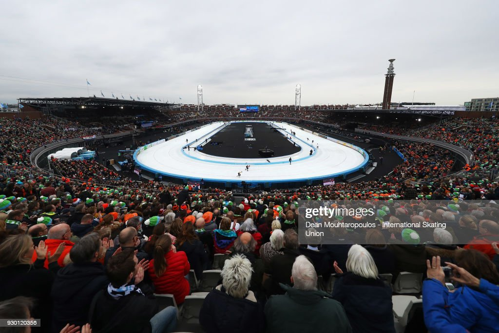 NLD: World Allround Speed Skating Championships - Amsterdam