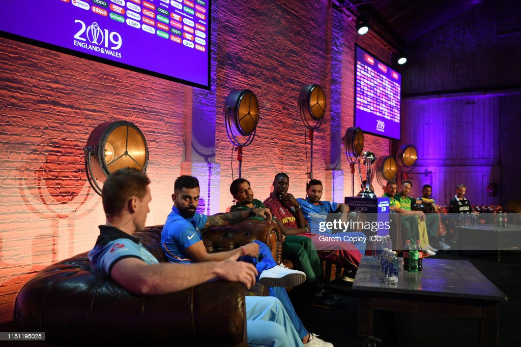 GBR: Captains Media Day – ICC Cricket World Cup 2019
