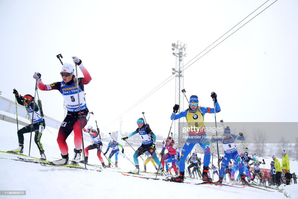 SWE: IBU Biathlon World Championships - Men's and Women's Mass Start