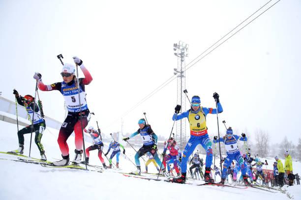 SWE: IBU Biathlon World Championships - Men's and Women's Mass Start