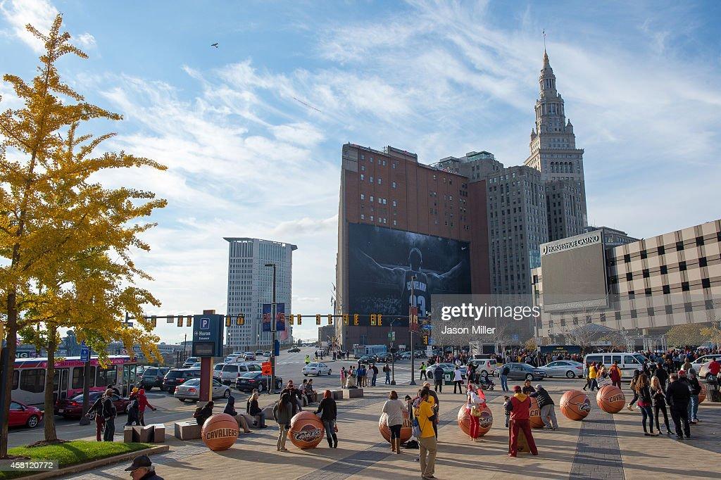 New York Knicks v Cleveland Cavaliers : News Photo