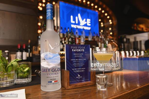 General view as Grey Goose takes over New York happy hour to launch Live Victoriously on April 16, 2019 at Underdog bar in New York City.