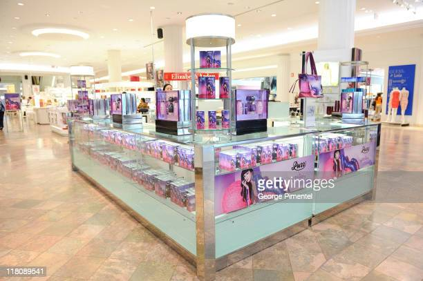 A general view as Katy Perry celebrates the launch of her debut fragrance 'Purr' at Sears Toronto Eaton Centre on June 30 2011 in Toronto Canada