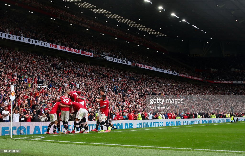 Manchester United v Leeds United - Premier League : News Photo