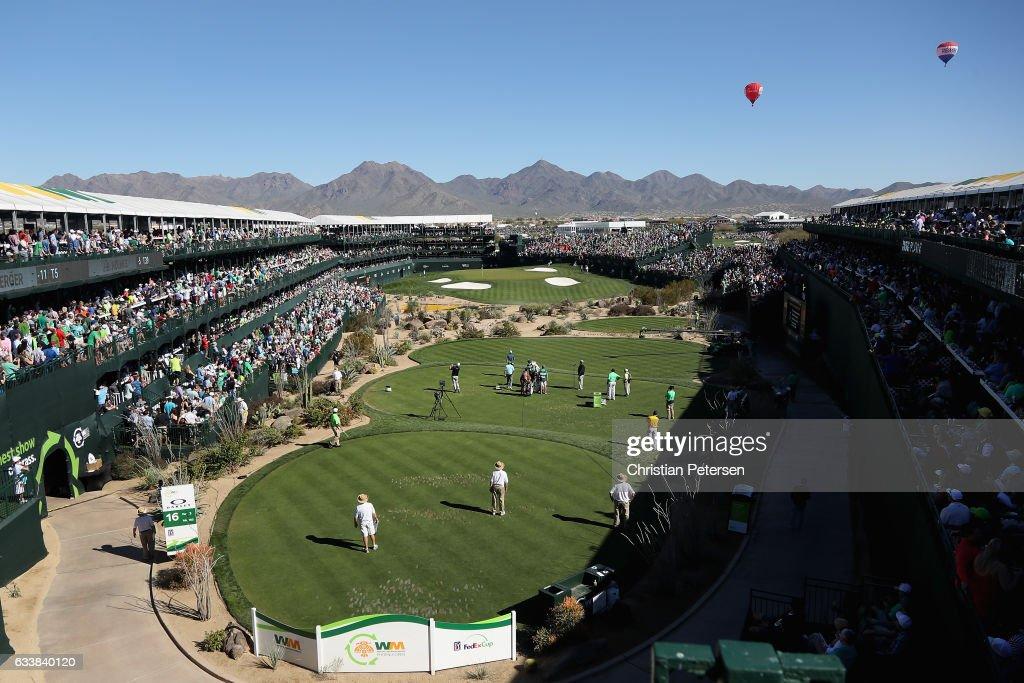 Waste Management Phoenix Open - Round Three : News Photo
