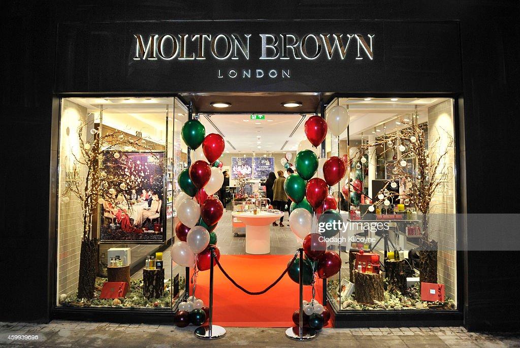 Molton Brown Opens Flagship Store On Grafton St : News Photo
