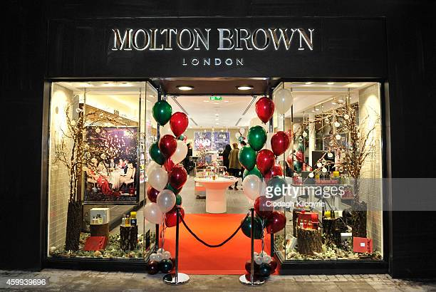 General view as Molton Brown opens it's new Grafton Street Flagship Store on December 4, 2014 in Dublin, Ireland.
