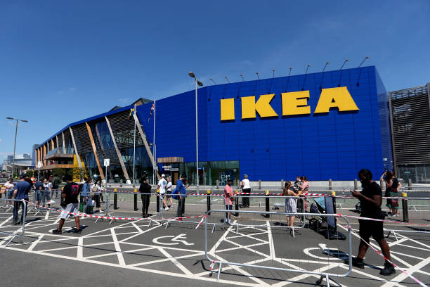 GBR: Ikea Reopens Stores In England And Northern Ireland As Coronavirus Lockdown Eases