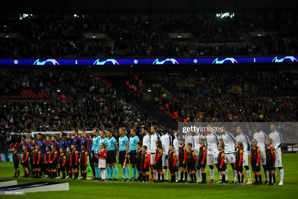 Tottenham Hotspur v FC Barcelona - UEFA Champions League Group B : News Photo