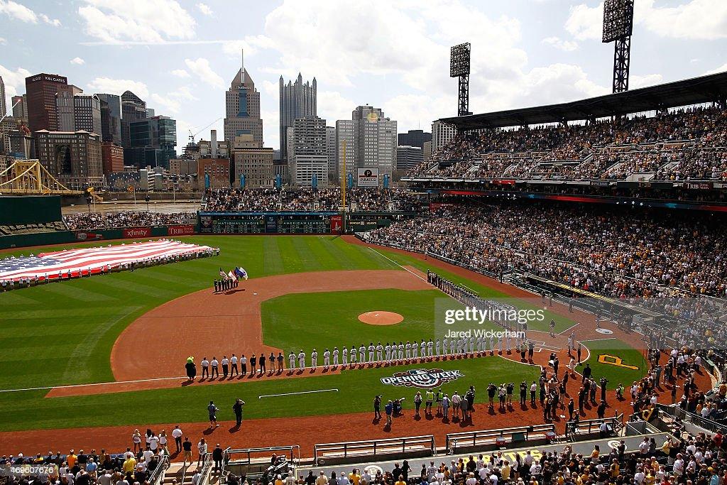 Detroit Tigers v Pittsburgh Pirates : Nachrichtenfoto