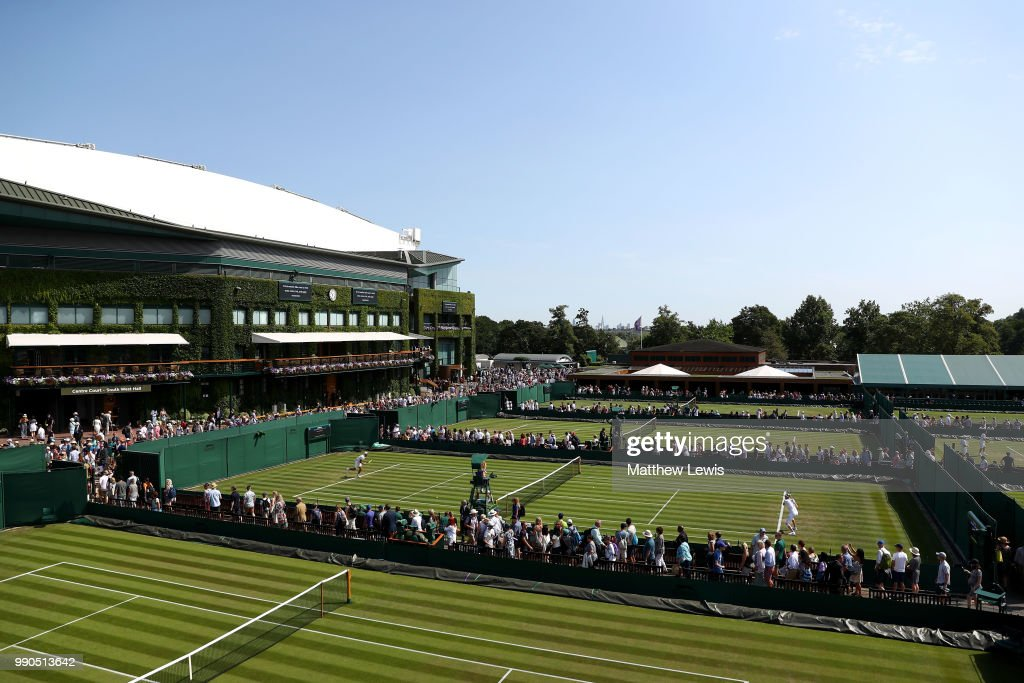 Day Two: The Championships - Wimbledon 2018 : ニュース写真