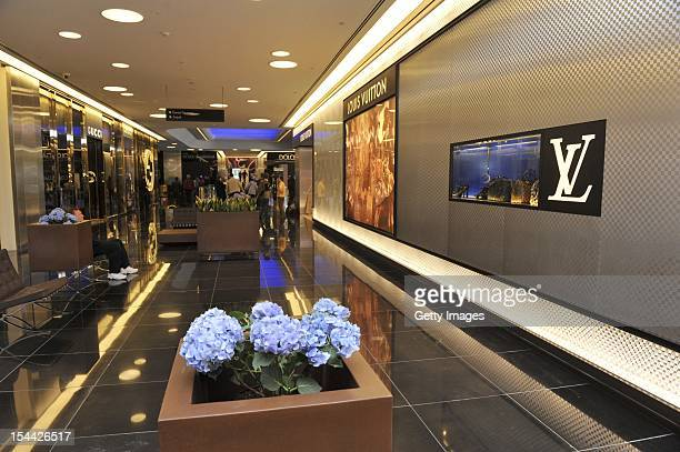 A general view as preparations are made for the launch of Capital Partners' luxury Esentai Mall as global fashion brands look to Central Asia for new...