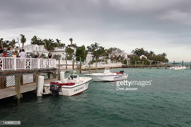 A general view as Prince Harry visits Harbour Island on March 4 2012 in Nassau Bahamas The Prince is visiting the Bahamas as part of a Diamond...