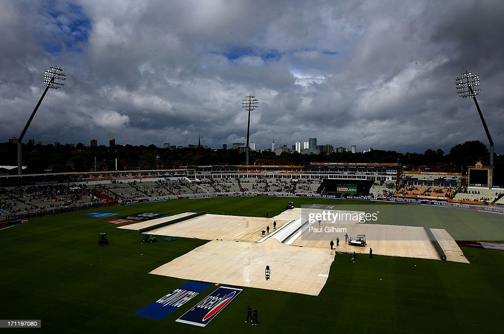 England v India: Final - ICC Champions Trophy : News Photo
