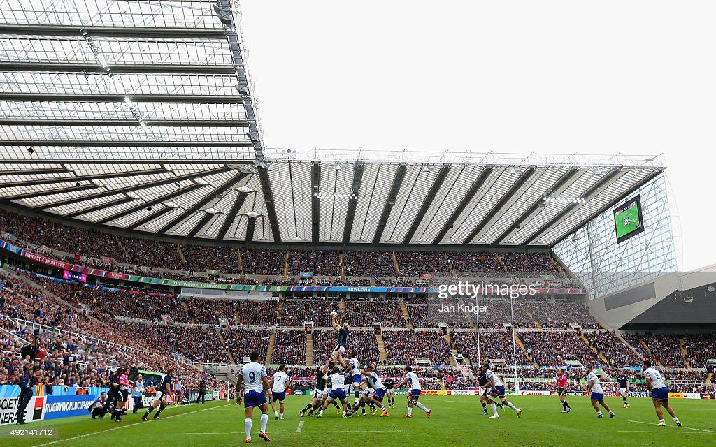 Samoa v Scotland - Group B: Rugby World Cup 2015 : News Photo