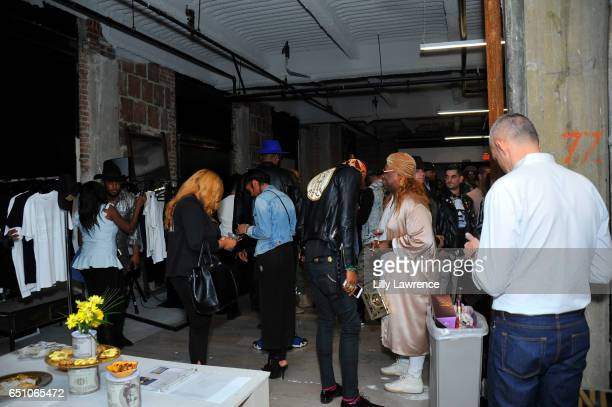 A general view as seen at Karen Bystedt's 'Kings And Queens' exhibition on March 9 2017 in Los Angeles California