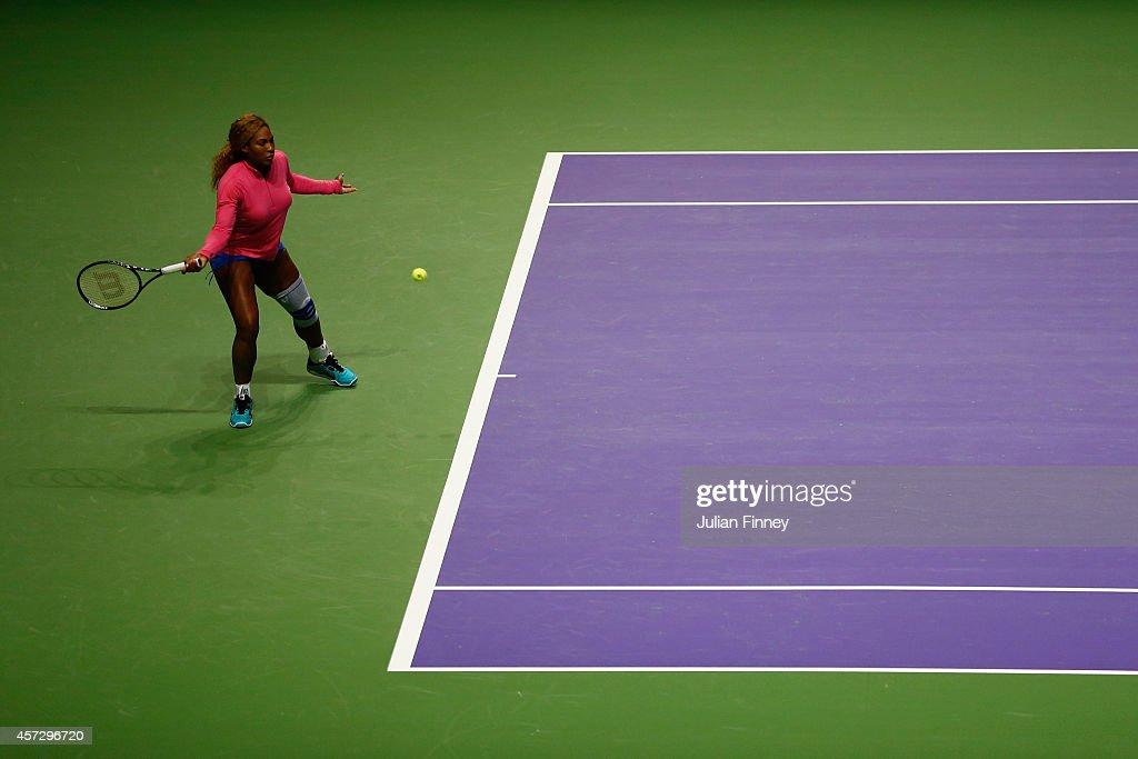 BNP Paribas WTA Finals: Singapore 2014 - Previews : News Photo