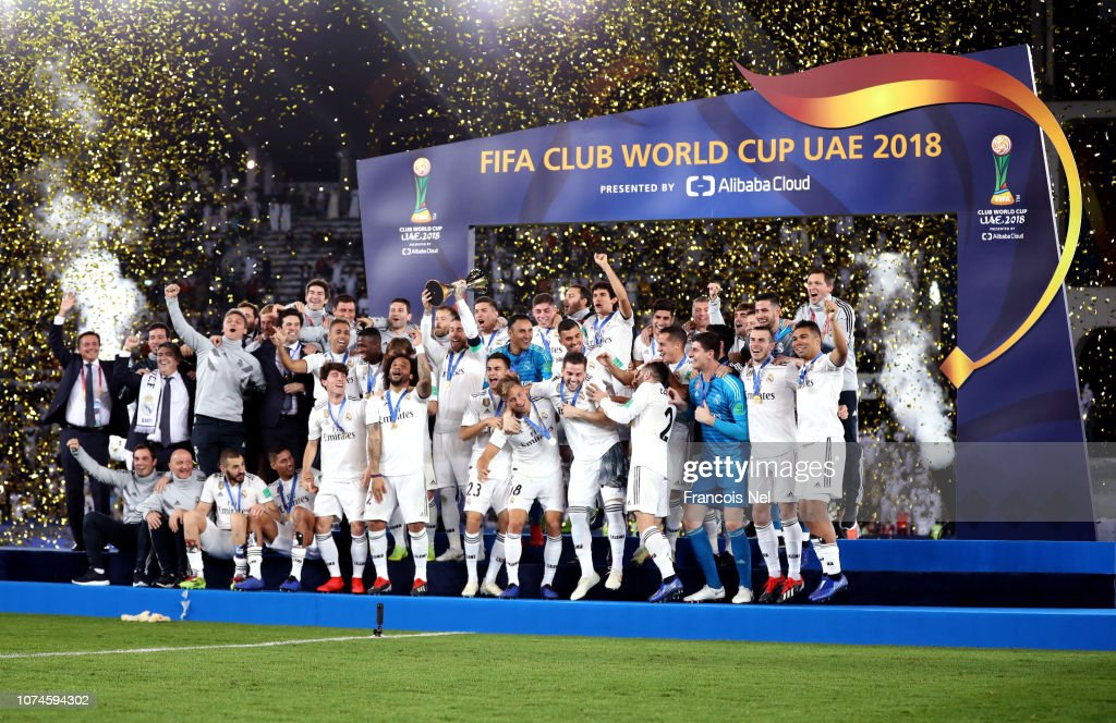 Al Ain v Real Madrid: Final - FIFA Club World Cup UAE 2018 : News Photo
