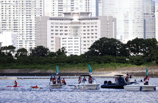 JPN: Marathon Swimming - Olympics: Day 12