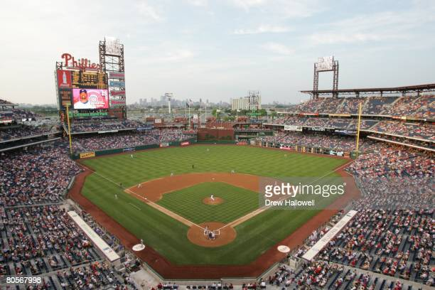 General view as the Chicago Cubs play the Philadelphia Phillies on May 11 2007 at Citizens Bank Park in Philadelphia Pennsylvania The Phillies won 72