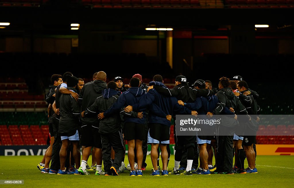 Fiji Captain's Run : News Photo