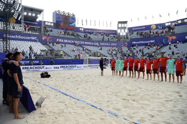 RUS: Switzerland v Senegal - FIFA Beach Soccer World Cup 2021