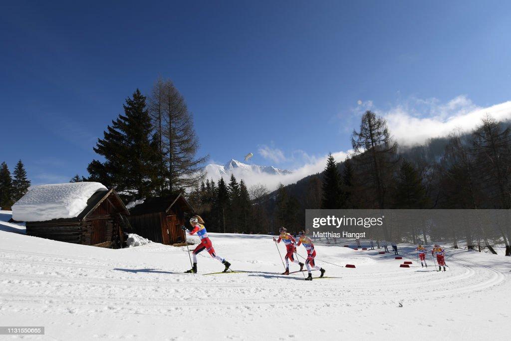 AUT: FIS Nordic World Ski Championships - Cross Country Skiathlon Ladies 15k