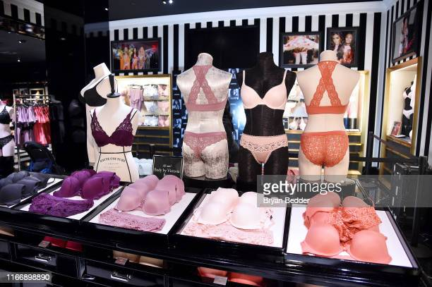 A general view as Victoria's Secret debuts new Fall collection with Angel Grace Elizabeth on August 08 2019 in New York City