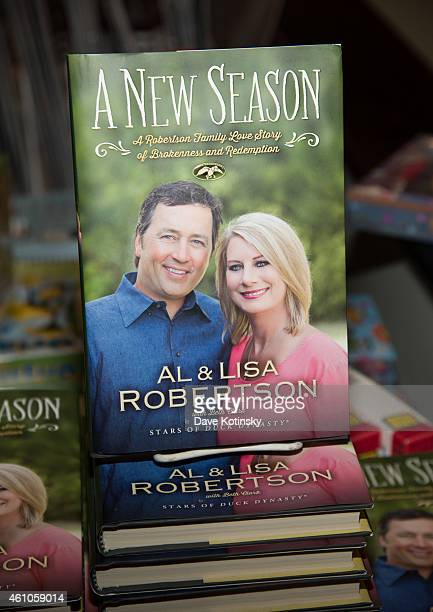 A general view at Al Robertson and Lisa Robertson Sign Copies Of Their Book A New Season at Bookends Bookstore on January 5 2015 in Ridgewood New...