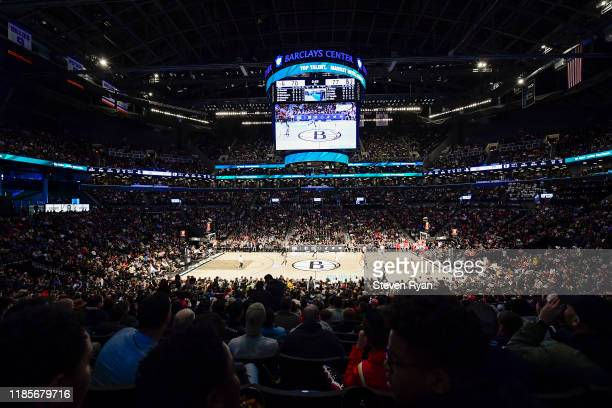 A general view at Barclays Center during the game between the Brooklyn Nets and the Houston Rockets on November 01 2019 in New York City NOTE TO USER...